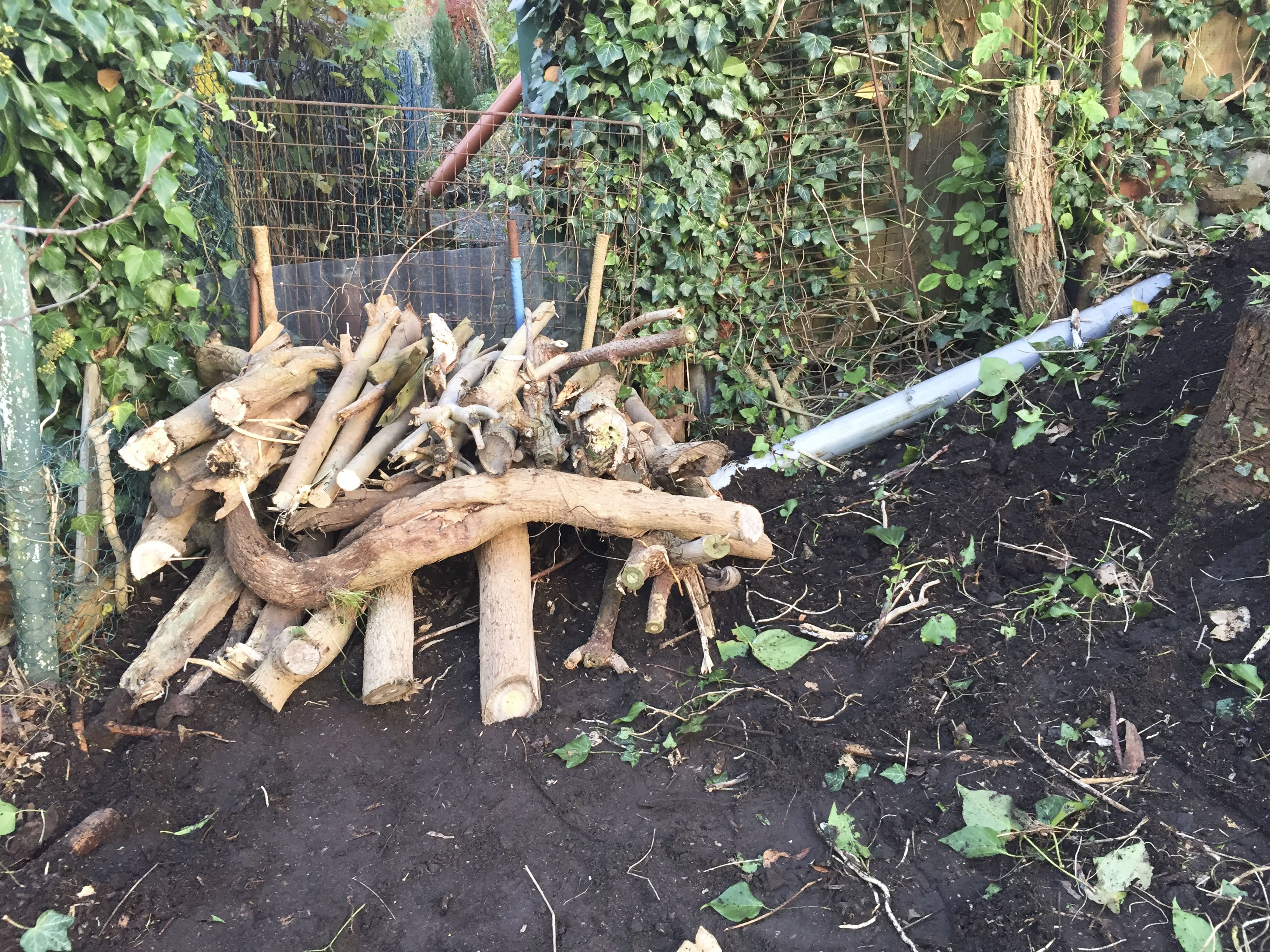 igelhaus-bauen-aufbau – ein stück arbeit