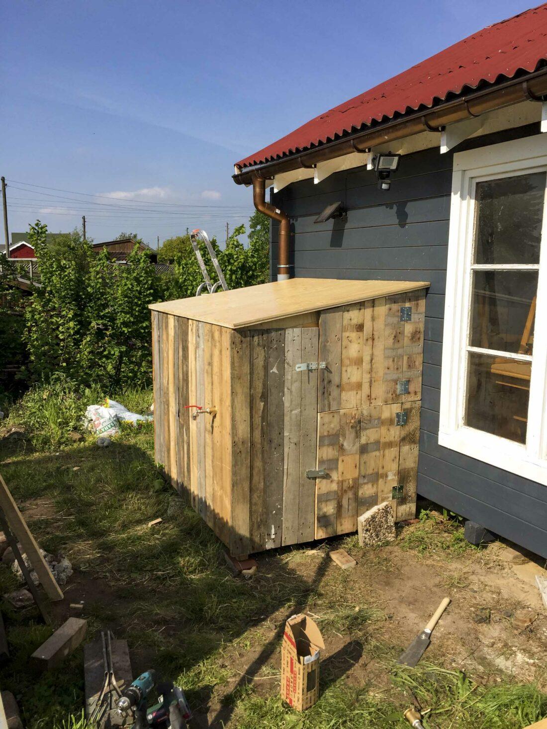 Einen Ibc Container Verkleiden So Gehts Ein Stuck Arbeit